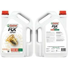 Castrol RX Super 15w-40 5l Heavy Duty Diesel Engine Ci-4 Plus Q26