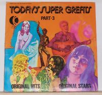 Todays Super Greats Part 3 - Original Hits and Stars 1974 K-Tel LP Record Album