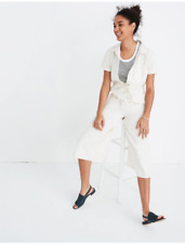 9641faf2fe8 BNWT NEW Madewell Wide Leg Utility Jumpsuit Coveralls Overalls shop top Sz  4!