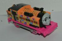 Thomas And Friends Fisher Price Nia Trackmaster Motorized Hyperglow Train Used