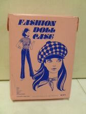 1970's Fashion Doll Case with Accessories and Clothing