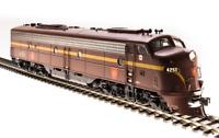 Broadway Limited 5436 EMD E8 A-unit, PRR #4261, Tuscan Red, Single Stripe