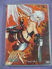 Burst Angel Volume 1 Death's Angel DVD 2003 Japanese Anime Disk 1 Episodes 1-4