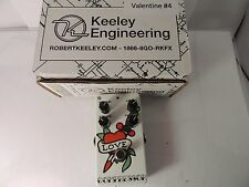 NEW KEELEY 4-KNOB COMPRESSOR C4 EFFECTS PEDAL CUSTOM TATTOO FINISH LTD EDITION 4