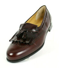 SALVATORE FERRAGAMO NIB Bordeaux Leather LUCAS Men's Dress Shoes 10