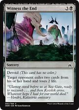 MTG Magic - (C) Oath of the Gatewatch - 4x Witness the End x4 - NM/M