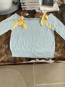 Cacharel Silk Jumper Size Uk 8  Bnwt