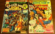 BRONZE AGE MARVEL COMICS  TEAM-UP TWO IN ONE PREMIERE LOT