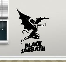 Black Sabbath Wall Decal Heavy Metal Rock Music Vinyl Sticker Decor Mural 112zzz