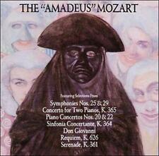 "The ""Amadeus"" Mozart 1990 by Wolfgang Amadeus Mozart; cd"