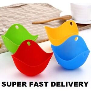 Silicone Egg Poachers Poaching Poach Pods Kitchen Buy 1 or More UK FAST DELIVERY