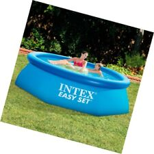 Intex Family Inflatable Wadding Large Ground Baby Swimming Pools Set, 8ft.x30in