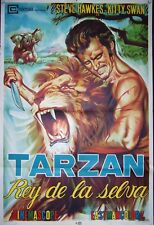 Tarzan Rey De La Selva,  Steve Hawkes, Kitty Swan,1958, #10387