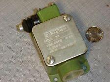 Zander Aachen MSG 31 Position /  Limit Switch 250V 3A VDE 0660 IP65 NEW!