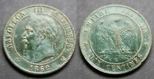 Napoléon III, 10 centimes 1862 K (Bordeaux)