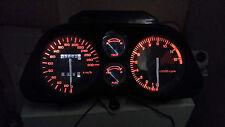 WHITE CBR1000F HURRICANE 87 - 89  led dash clock conversion kit lightenUPgrade
