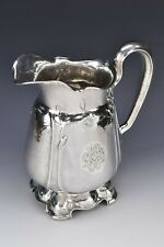 Large Gorham Martele Sterling Silver Pitcher with Poppies Art Nouveau 54.6 Troy!