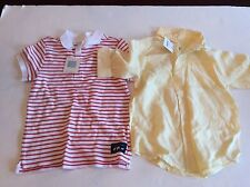Janie And Jack Boys Size 6 Spring Summer Shirts NEW