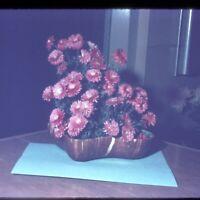 Lot of 58 Vintage Kodachrome Photo Slides  1959-62 of Flower Arrangements