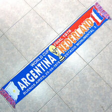 BUFANDA SCARF - ARGENTINA VS NEDERLAND - WORLDCUP FINAL 1978 - ECHARPE SCIARPA
