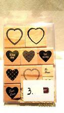 Close to My Heart S620 Close to My Heart Scrapbook Stamp Set New Valentine love