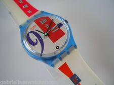 BOLD FACE! Funky, Colorful ART Swatch By Beatrice Santicciolli-NIB!