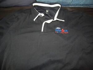Vintage Ironman Triathlon Lake Placid K-Swiss FORD (Embroidered) polo shirt XL