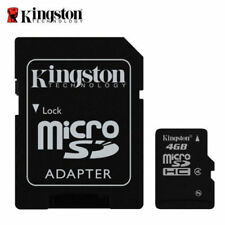 Kingston microSDHC 4 GB Memory Card