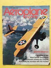 AEROPLANE MONTHLY - April 1975 - XB-70 Valkyrie - Profile: Breguet XIX T.R.