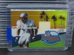 2004 Topps Chrome Ty Law Player Worn Pro Bowl Jersey Patch Relic Patriots R528