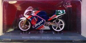 1/18 HONDA NSR 250 SITO PONS (1988) MOTO DEL MUNDIAL