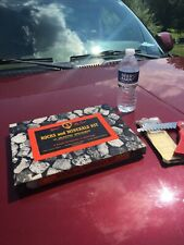 Vintage Official Boy Scout Rocks and Minerals Kit BSA + knife saw clean BSA