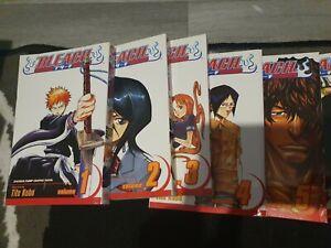Bleach Manga Volumes 1-10 Tite Kubo Manga