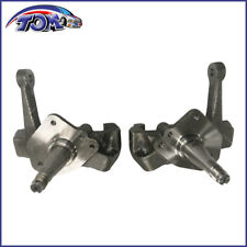 "New Forged Steel 1-Piece 2"" Drop Spindles Pair For 74-78 Ford Mustang II Pinto"