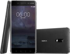 "Original Nokia 6 Dual SIM 64GB ROMC Black 4GB RAM 16MP Android Phone 5.5"""