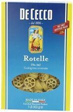DeCecco Rotelle (pinwheel) Pasta, 16 Oz (Pack of 8)