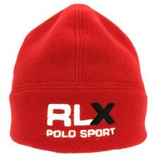 Vtg Polo Sport RLX Beanie Spell Out Skull Cap Logo Ski HiTech Hip Hop Snow Hat