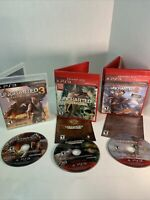 Uncharted: Drake's Fortune -- Greatest Hits Edition PS3 & 3 Drakes Dec/2 Thieves