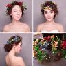 Princess Wedding Bridal Prom Party Flower Fruit Garland Headpiece Hair Jewelry