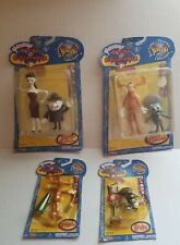 2000 Just Toys Adventures Of Rocky And Bullwinkle Lot Of 4