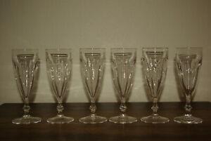 Baccarat Champagne Gläser