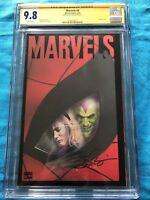 Marvels #4 - Marvel - CGC SS 9.8 NM/MT - Signed by Kurt Busiek
