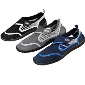 Air Balance BIG SIZE Water Shoes 13-15 Beach Pool Shoes Blue-Grey-Black