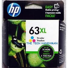 HP 63xl Tri-color Ink Cartridge F6U63AN Exp 2018