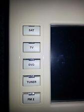 Crestron Tps-3000L Button Caps Engraved White