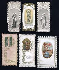 santini merlettati-holy cards lace-canivets-spitzebildichen LOTTO N.493