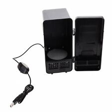 PC USB Mini Refrigerator Fridge Beverage Drink Can Cooler Warmer E8