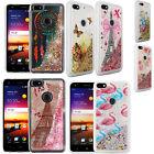For ZTE Blade X Z965 Liquid Glitter Quicksand Hard Case Phone Cover Accessory