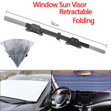 Car Retractable Front Window Sun Shade Visor Folding Auto Windshield Block  Cover a26b85f8391a
