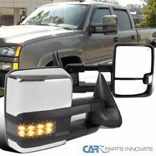 03-06 Silverado Sierra Power Heated Towing Mirrors+Smoke LED Signal+Clearance